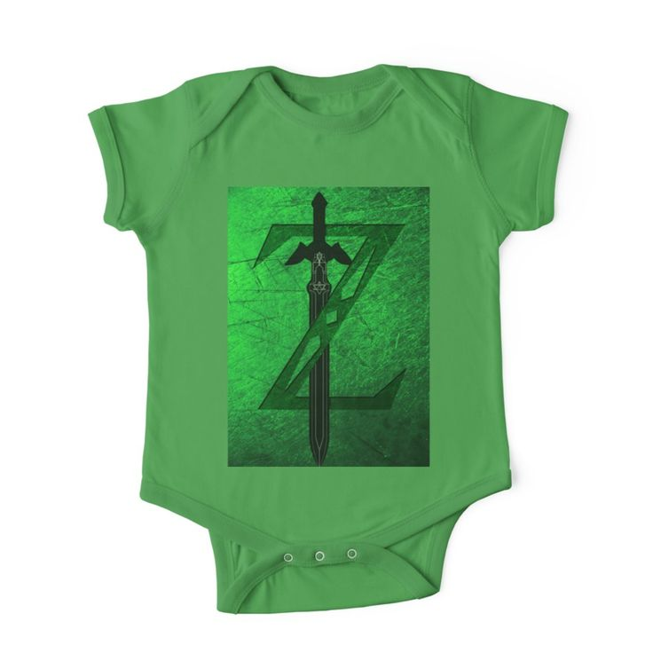 Zelda Sword Baby Onesie. #babyboy #onesie #babyshowerideas #geek #nerd #retro #games #videogames #giftideas #babyonesie #baby #babyclothes #thelegendofzelda #giftsforhim #giftsforher #babygirl #family #redbubble #gaming #gamer #gifts #kids #kidstshirt #onlineshopping #shopping #family #kids #style #fashion #cool #awesome #tee #tees #tshirts • Also buy this artwork on apparel, stickers, phone cases, and more.