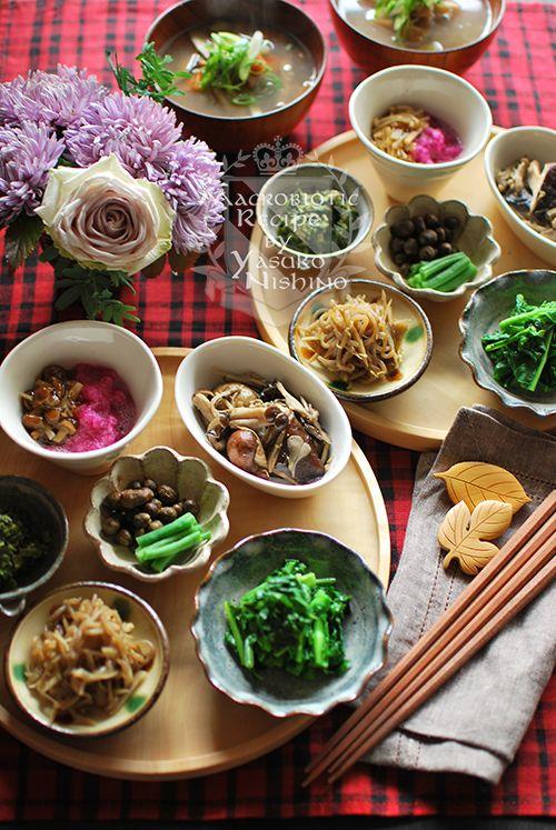 小鉢膳と箱庭と癒やし。むかごの事実。 の画像|西野椰季子のマクロビオティックレシピ