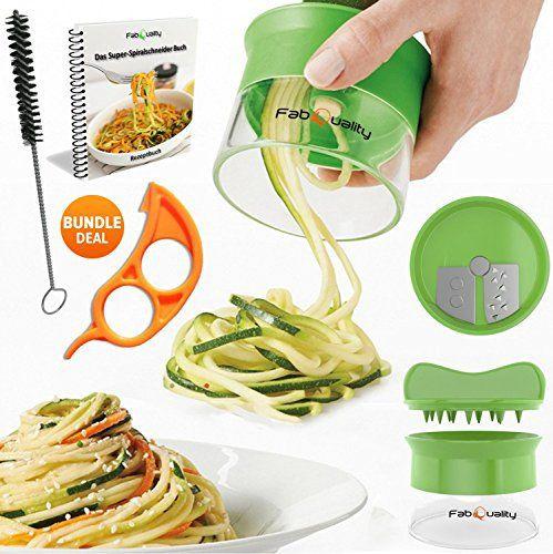 Premium à spirale main pour légumes Pommes de terre à spaghetti, fabqua lity courgettes Éplucheur à asperges, Schneider, concombre…