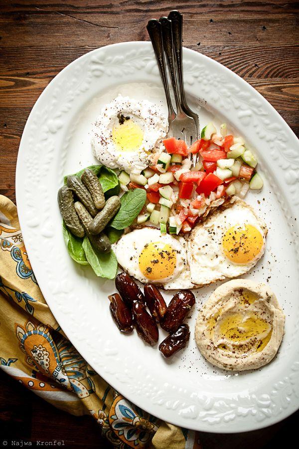 Israeli breakfast! I want it!