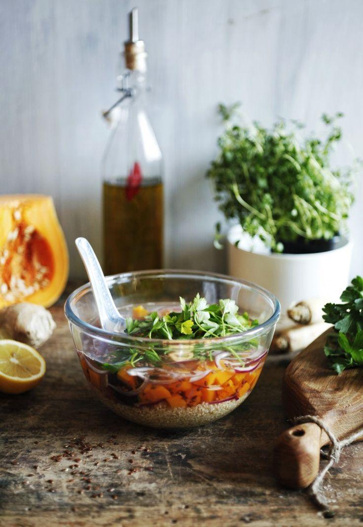 Zupa makrobiotyczna z komosą ryżową | gotuj zdrowo!
