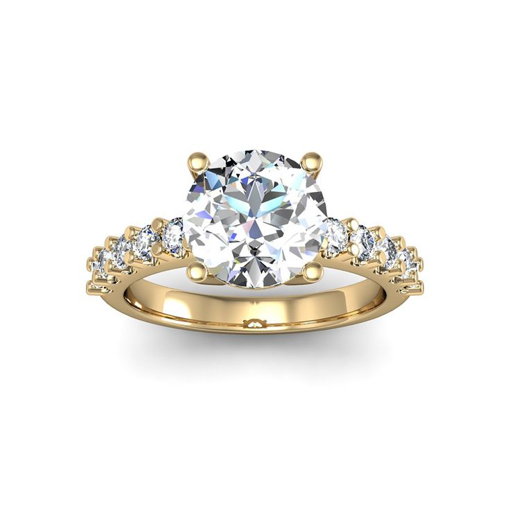 37 best Yellow Gold Engagement Rings images on Pinterest