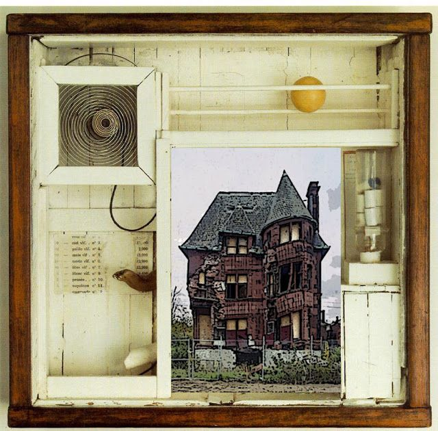Wonderful meditation on the metalevels we are guided to in viewing Joseph Cornell