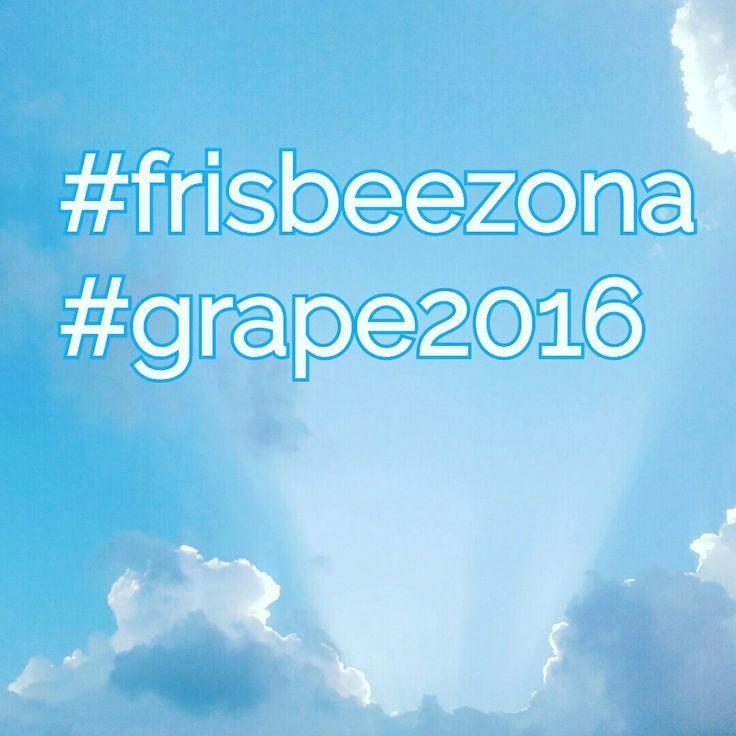 #frisbee#fun #frisbeezona #grape2016 #grape16 @gtapefestival
