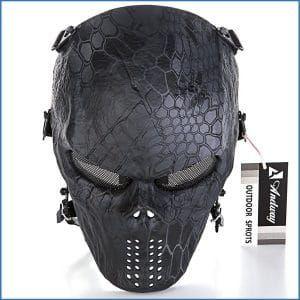 Andway Skull skeleton Full Face Mask Protective Mask Gear