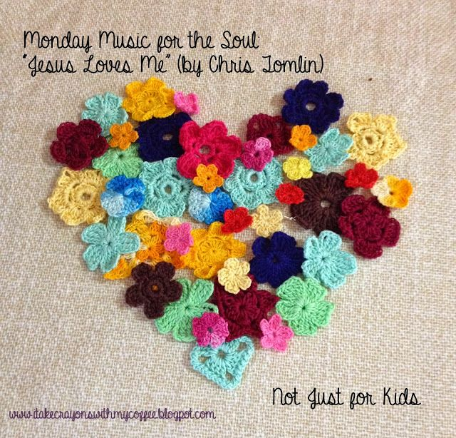 "i take crayons with my coffee: Monday Music for the Soul: ""Jesus Loves Me"" (by Ch..."