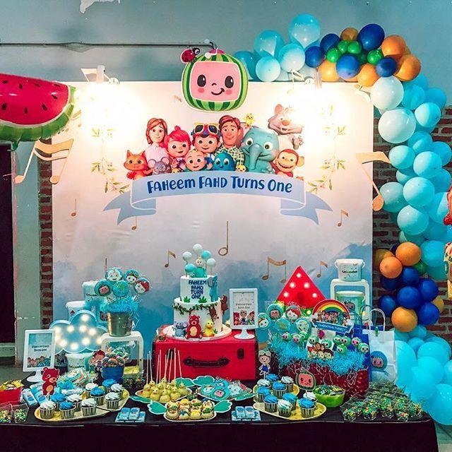 Cocomelon Birthday Cake B 250 Squeda De Google In 2019