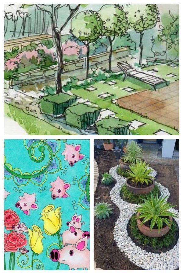 34 Ideas Garden Design Sketch Landscape Plans Gardendesign Design Garden Ga Design Design In 2020 Landscape Plans Home Garden Design Garden Design Plans