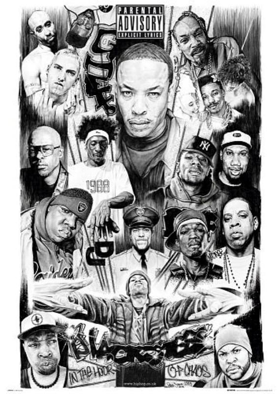 Rap Gods 2 Maxi Poster 61cm X 91 5cm New And Sealed Hip Hop Artwork Hip Hop Art Hip Hop Poster