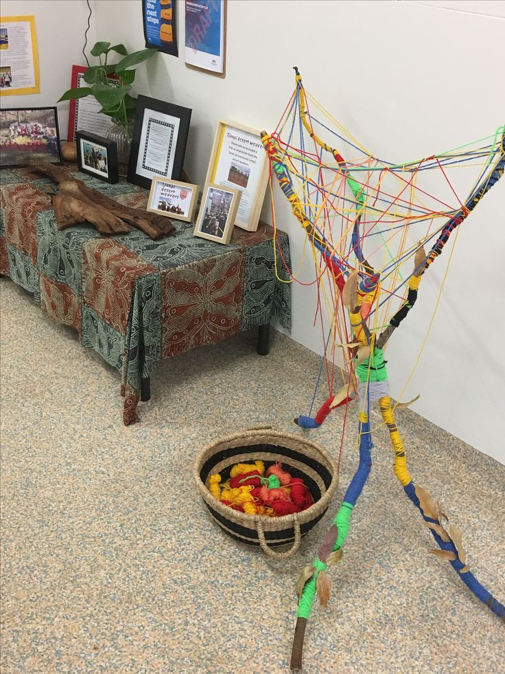 A beautiful woven tree embellishing the foyer at Brookvale Early Learning Centre. The families and children have been collaboratively creating over the last few weeks fostering a sense of belonging to this place.  #aboriginal #aboriginaleducation #aboriginalart #earlylearning #earlychildhoodeducation