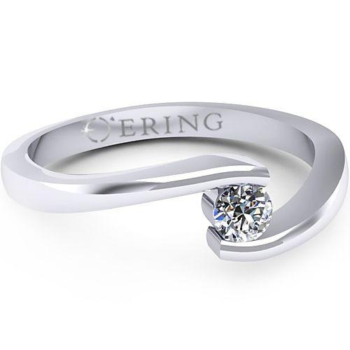 Inel logodna L38ADI inel cu diamant
