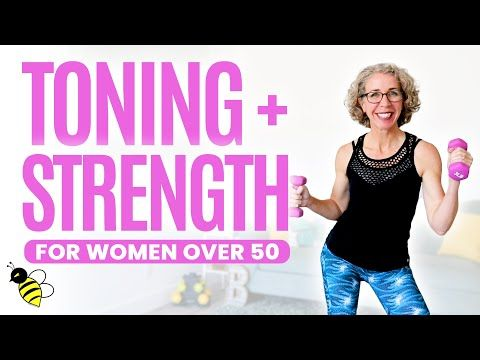 toning  strength workout for women over 50 ⚡️ pahla b