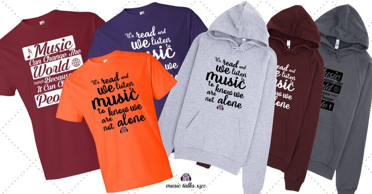Our hoodies and tee's have some of the most inspiring quotes. Get one to match your style.