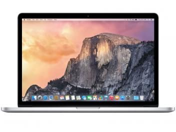 "Macbook Pro Retina 15,4"" Apple MJLT2BZ/A Prata - Intel Core i7 16GB 512GB OS X Yosemite"