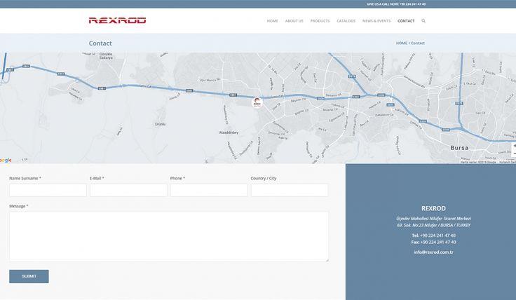Rexrod Spare Parts Kontrol Panelli Web Sitesi 3 - Silüet Tanıtım Web Tasarım
