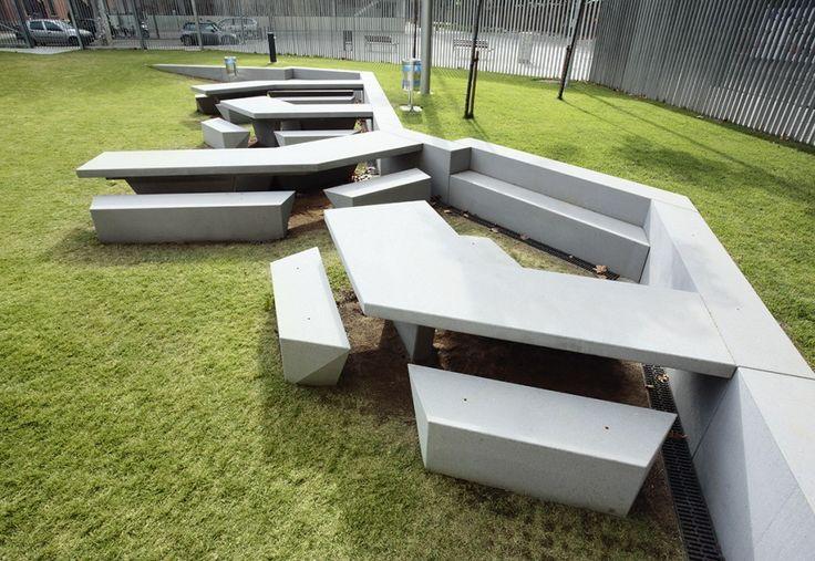 Zona Verde Campus De La Ciudadela | F451·Arquitectura