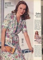 Magazyn BURDA MODEN 1978 4 / magazyn BURDA MODEN stron / Library / moda