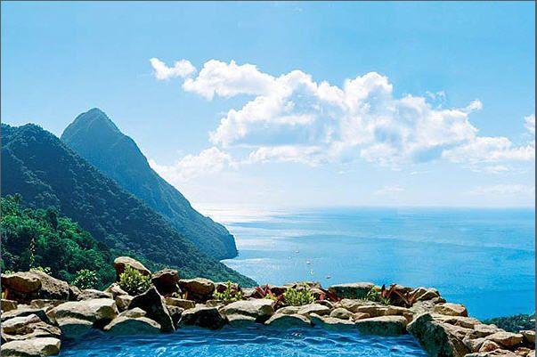 Ladera Resort. St. Lucia