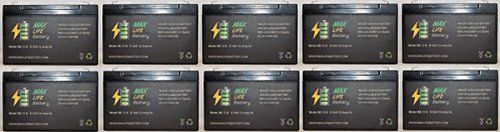 6V 12Ah Rechargeable Battery for Batman Batmobile toy car - 10 Pack  - Click image twice for more info - See a larger selection of batman at http://zkidstoys.com/product-category/batman/ - kids, child, children, toddler, grown up toys, kids gift ideas, collectible toys,christmas,holidays
