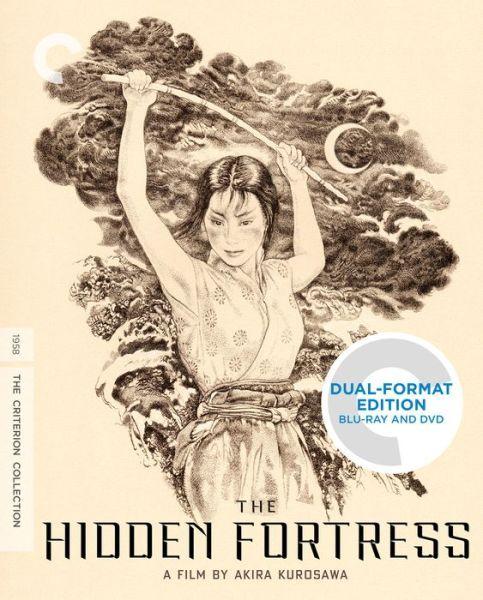 #Kurosawa #Pre-cursor to #StarWars  =\\\=   The Hidden Fortress (Blu-ray + DVD)