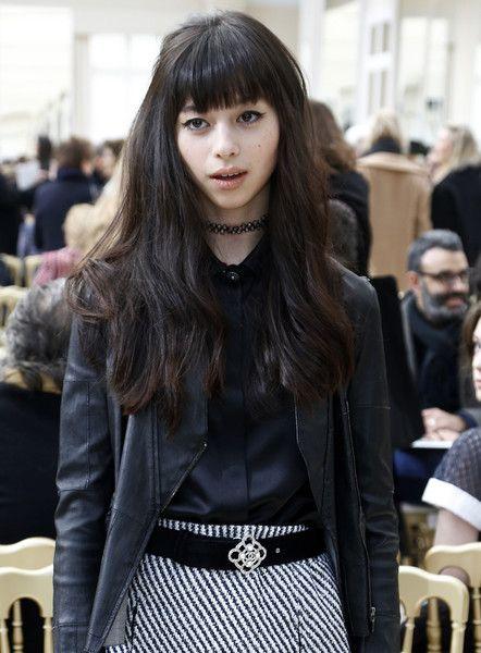 Ayami Nakajo Photos: Chanel : Front Row - Paris Fashion Week Womenswear Fall/Winter 2016/2017