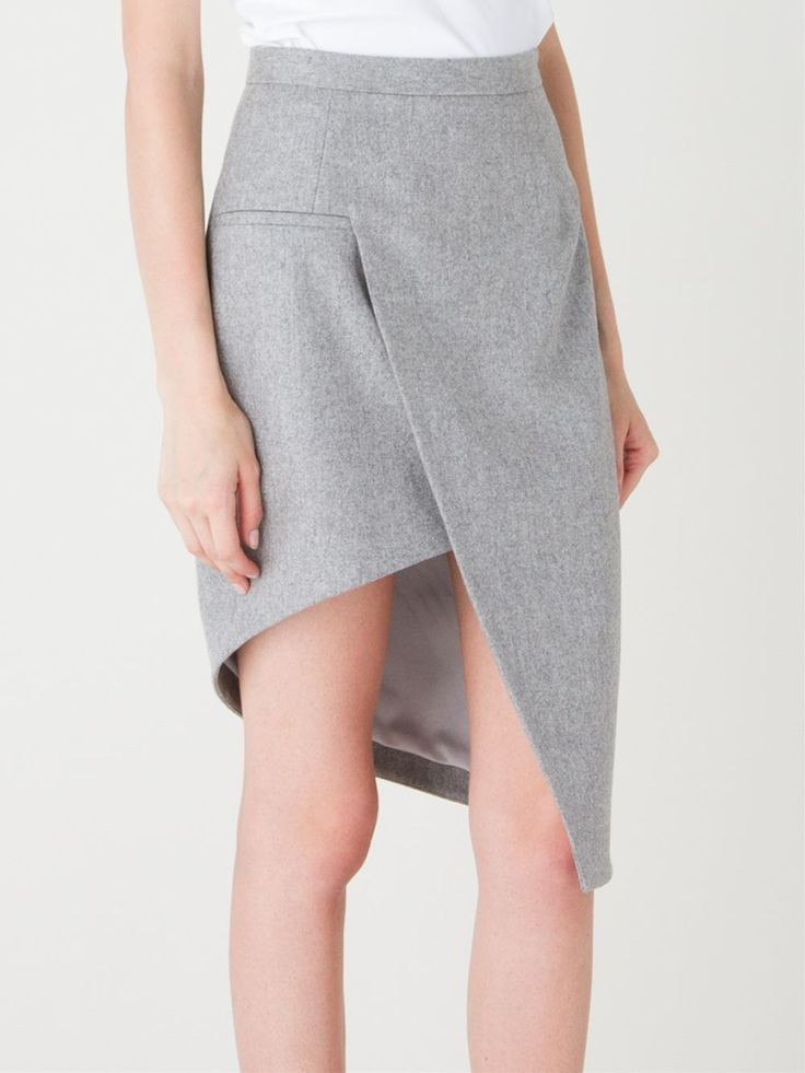Best pencil skirt modification. I might be able to stand wearing this one.