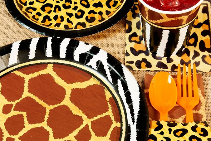 207 mejores im genes sobre animal print party ideas en for Animal print party decoration ideas