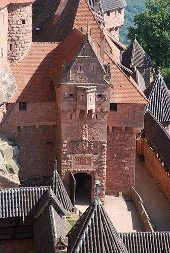 Château du Haut-Kœnigsbourg, medieval castle in Orschwiller, France