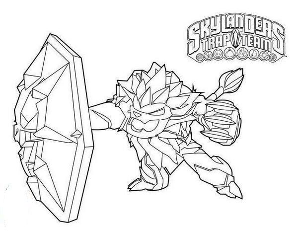 Skylanders Trap Team Coloring Page - Free Coloring Pages Online | 465x600