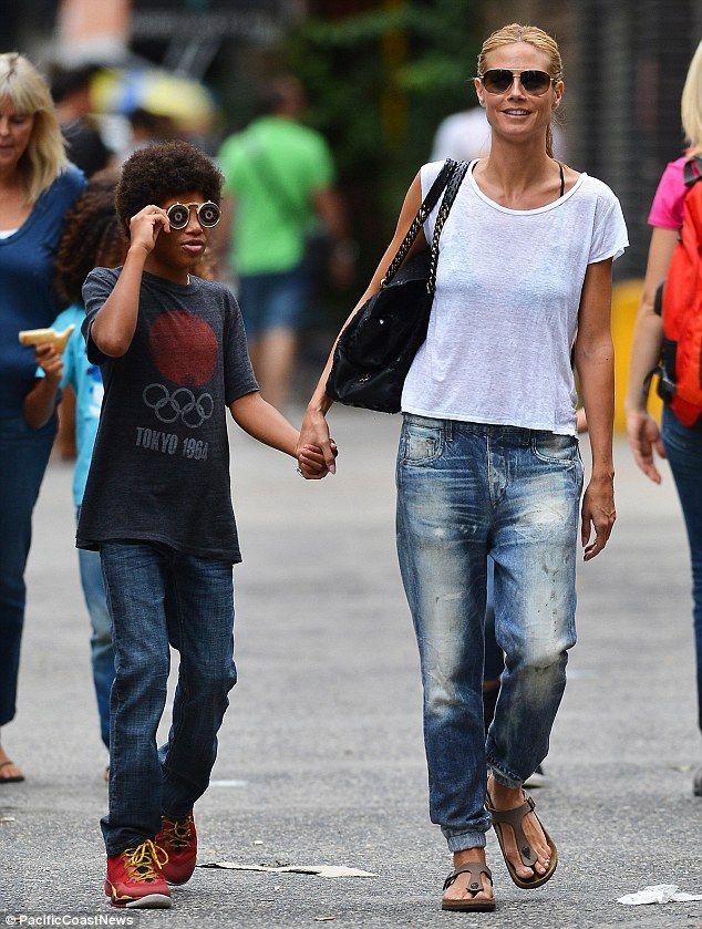 Heidi Klum's kids just adore her boyfriend Vito Schnabel