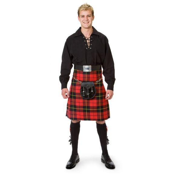 Килт - мужская юбка в Шотландии - необычная национальная одежда