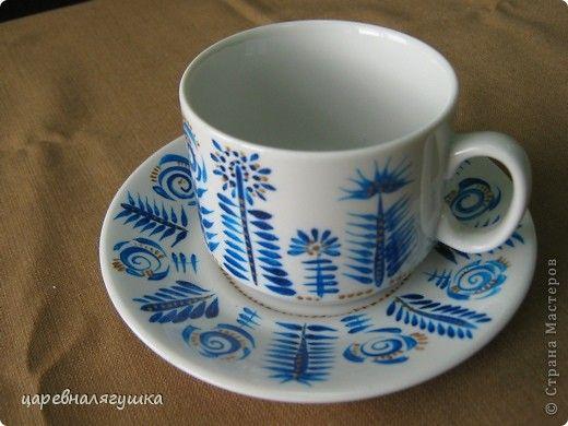 Декор предметов День рождения Роспись Роспись посуды Краска фото 1