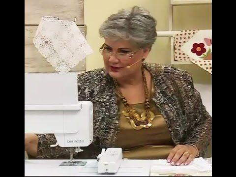 Guipure e Richelieu com Maria Angélica | Vitrine do artesanato na TV - YouTube
