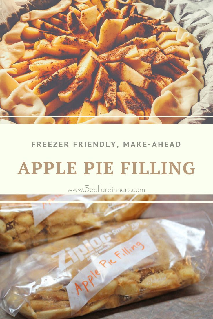 Apple Pie Filling For The Freezer Apple Pies Filling Apple Pie Filling Recipes Homemade Apple Pie Filling