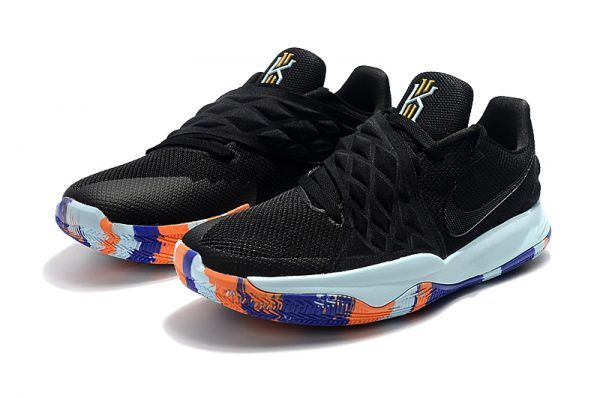 the best attitude 60fb9 4008f Nike Kyrie 4 Low Black/Multi-Color Men's Basketball Shoes ...