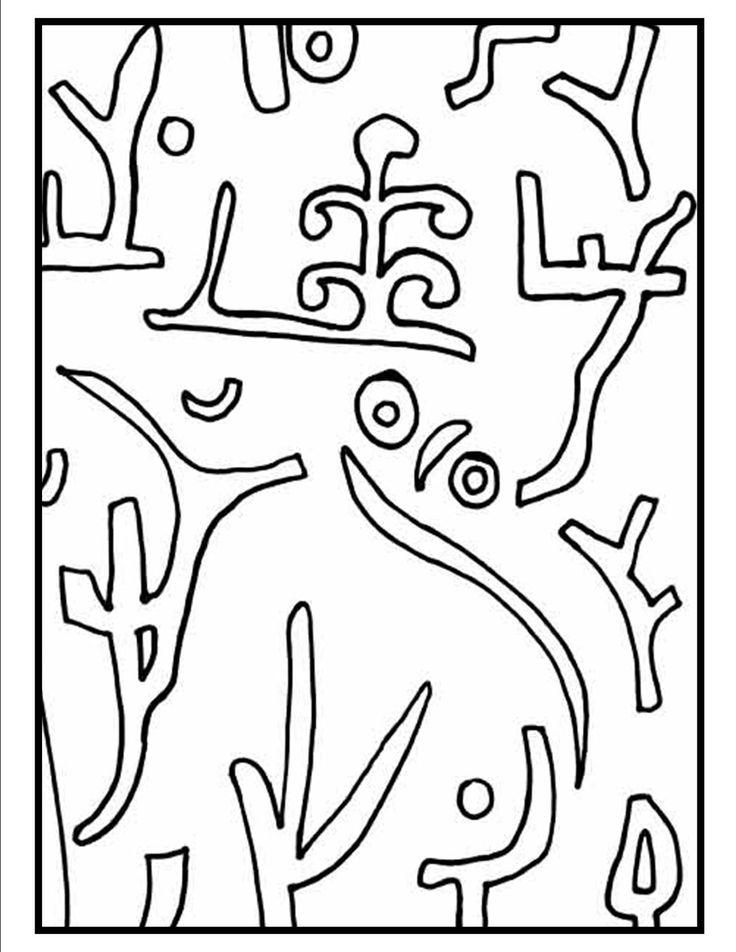 Ciao Bambini Ciao Maestra Paul Klee Laboratorio Di Arte E
