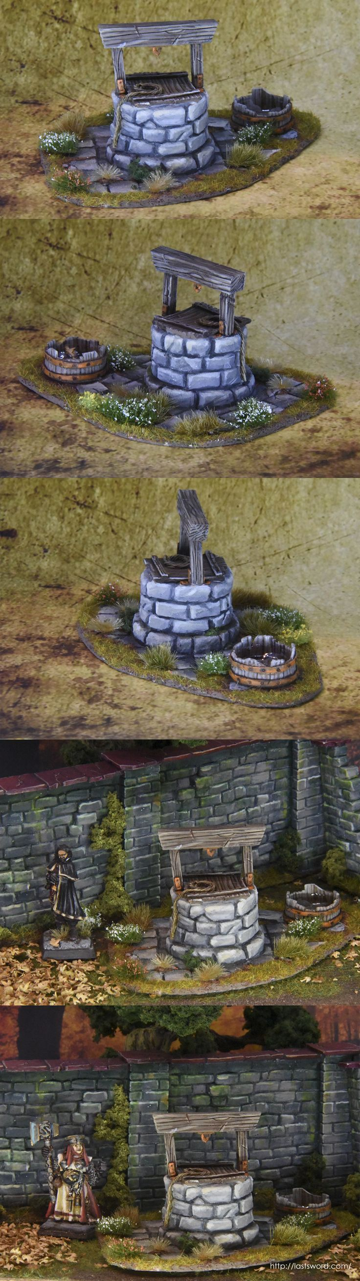 Water Well for Warhammer Fantasy, Mordheim and 1650 A capa y espada and others fantasy wargames.