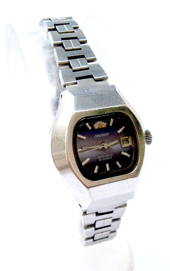 Vintage Reloj ORIENT Autamtico Japan 21 Jewels por shopvintage1