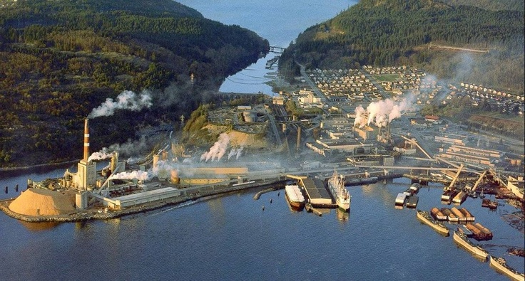 Powell River Pulp Mill
