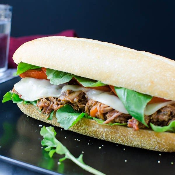 Italian Braised Pork Hoagie | Recipe | Pork, Braised pork and Italian