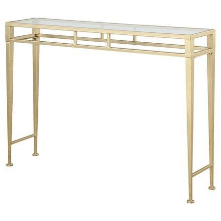 Gold Coast Julia Hall Console Table   Convenience Concepts