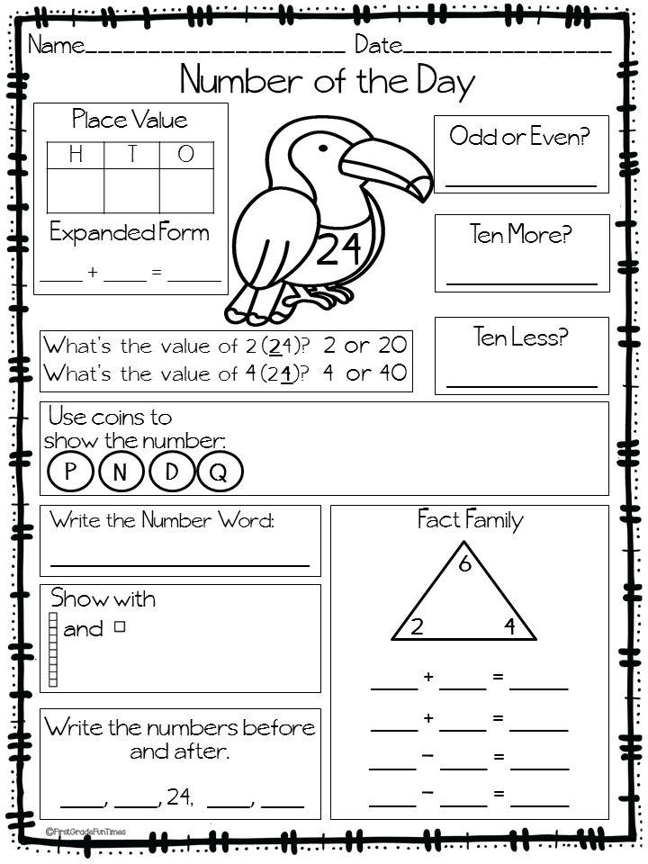 Calendar Math Ideas First Grade : First grade calendar math routine growing kinders it s