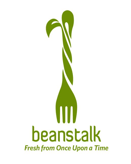 #creative #logo - Would make a good forum name: Beans Talk; Beanstalk. Very cute play on words.