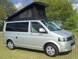 VW T5 Campervan T28 102BHP Startline 2.0TDi SWB in India Blue (Stock 399), 4 berth, (2014) Campervan for sale in Staffordshire | CSK534EA48