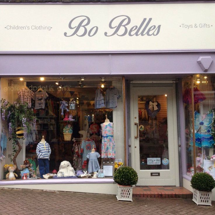Bo Belles - Children's boutique - Stanley Street