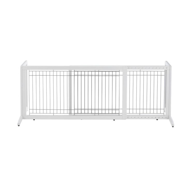 "Richell Free Standing Pet Gate HL Large White 39.8"" - 71.3"" x 17.7"" x 20.1"""