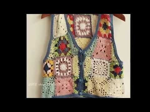 Suéter Abrigo Granny parte 1 #Ganchillo #Crochet Sweater #Diy - YouTube