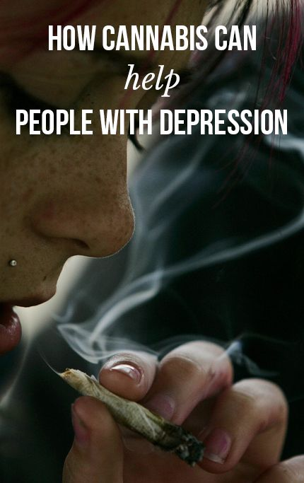 How cannabis can help people with depression | massroots.com