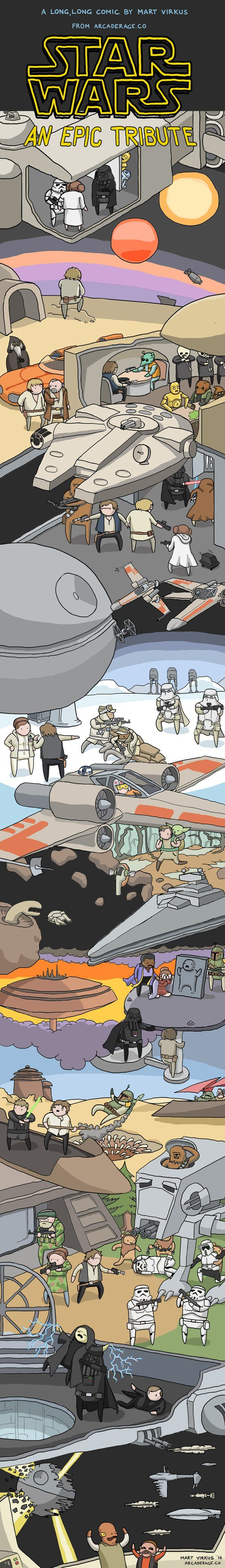 An Epic Tribute to Star Wars