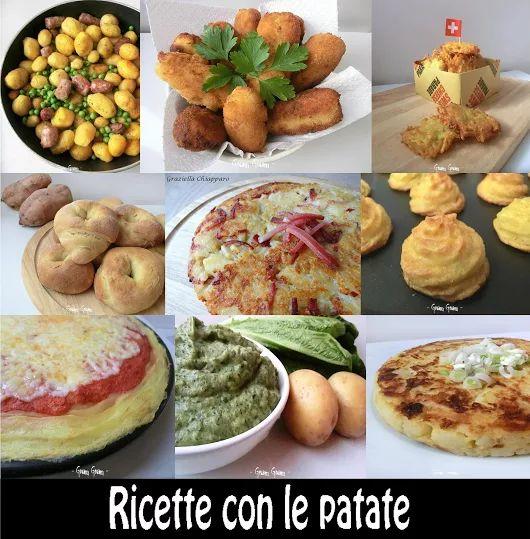 Cento ricette con le patate! | Raccolta ricette | Le ricette di Graziella Chiapparo